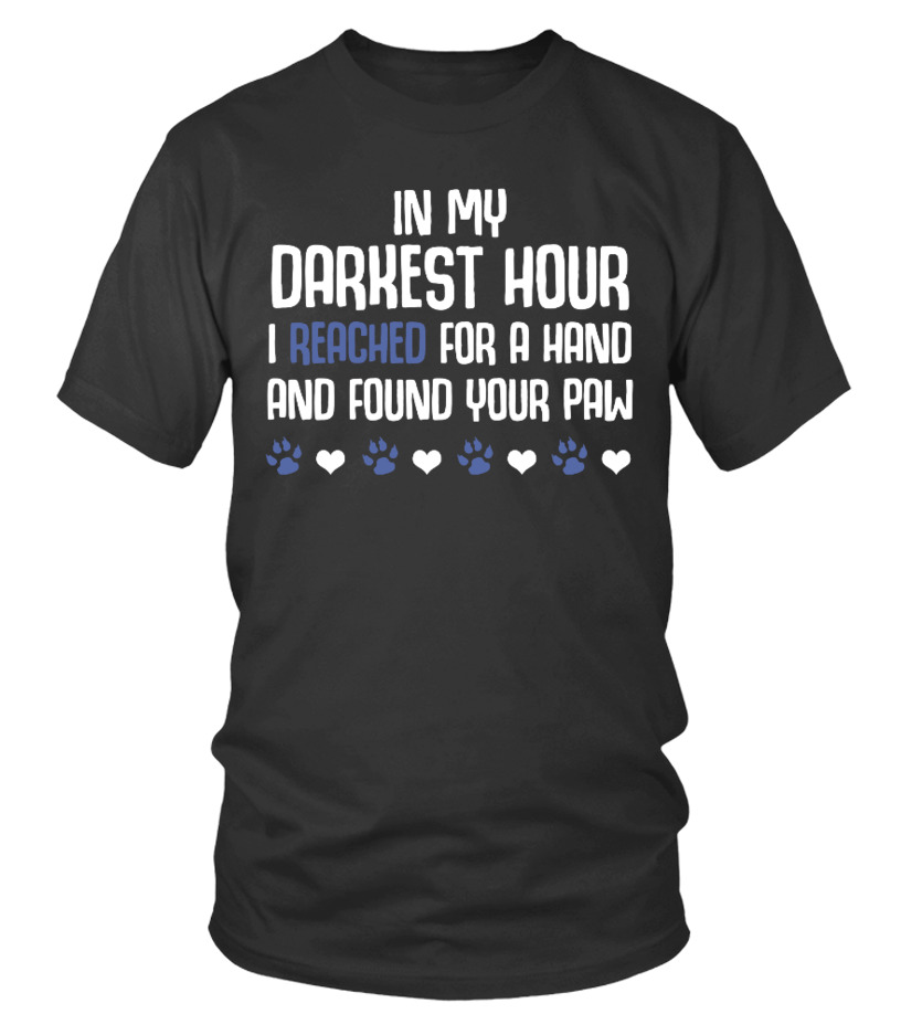 In my darkest hour I reached for a hand