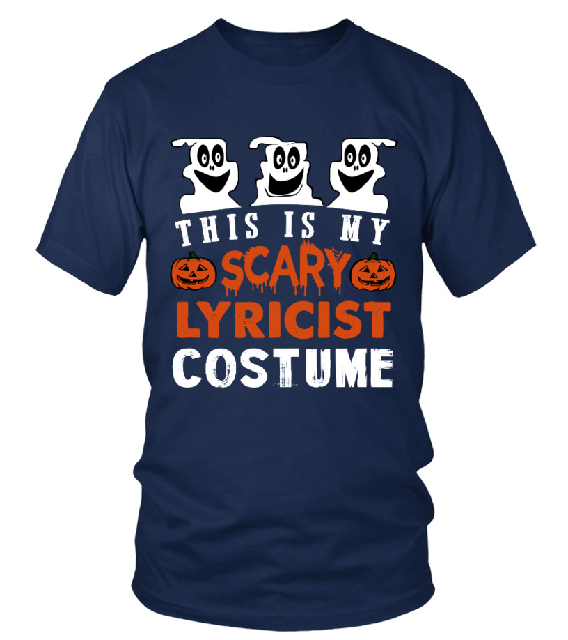 This is My Scary Lyricist Costume Hallow