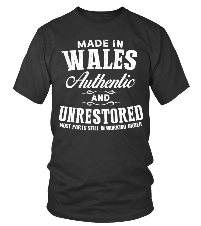 Made In Wales Authentic Unrestored
