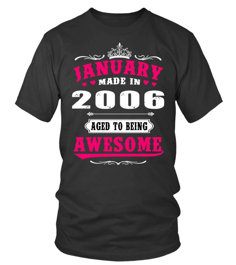 2006  - January Aged to being Awesome
