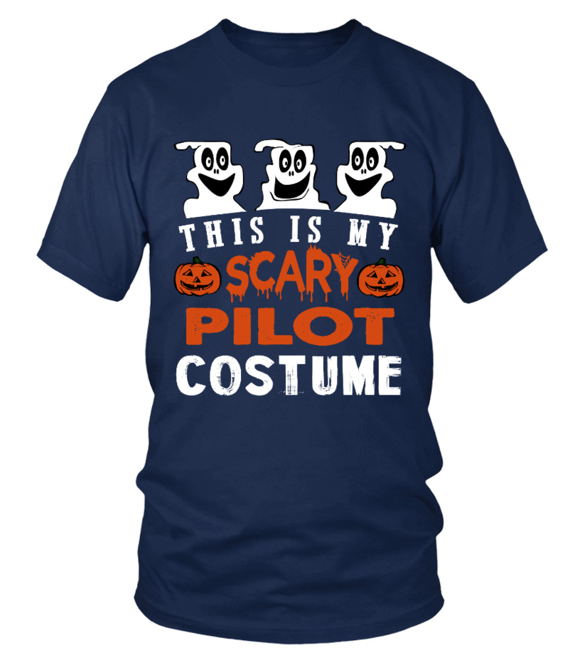 This is My Scary Pilot Costume Halloween