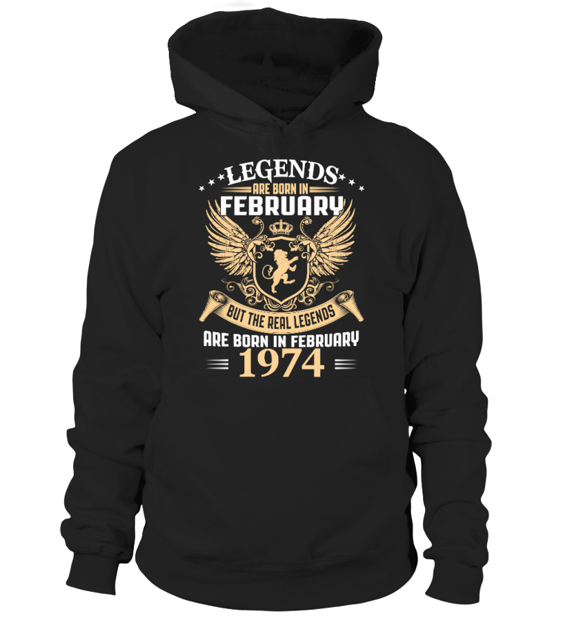 Legends Are Born In February 1974