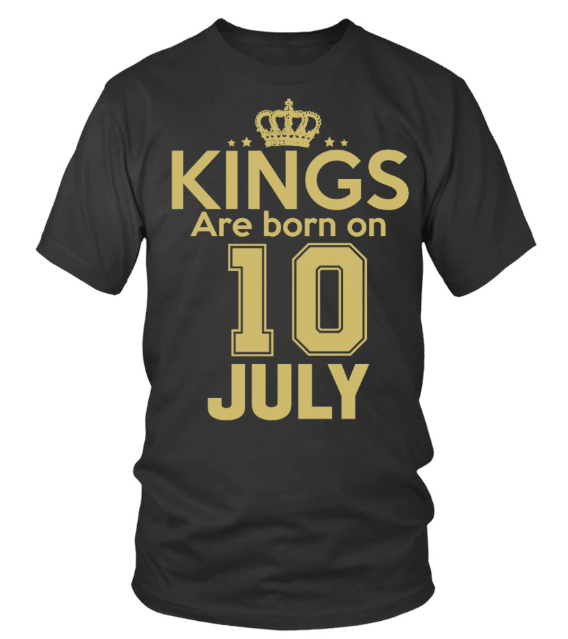 KINGS ARE BORN ON 10 JULY