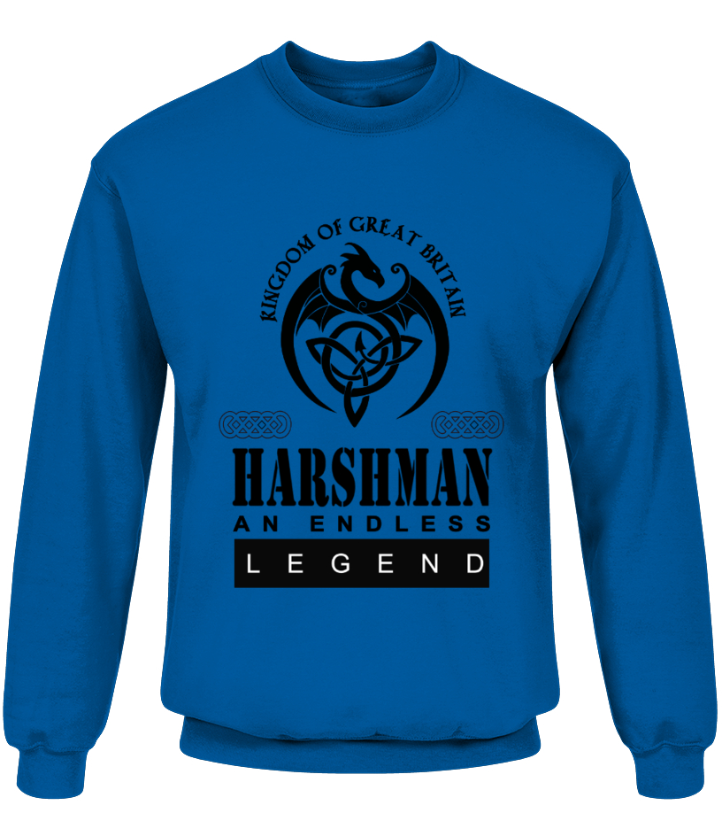 THE LEGEND OF THE ' HARSHMAN '