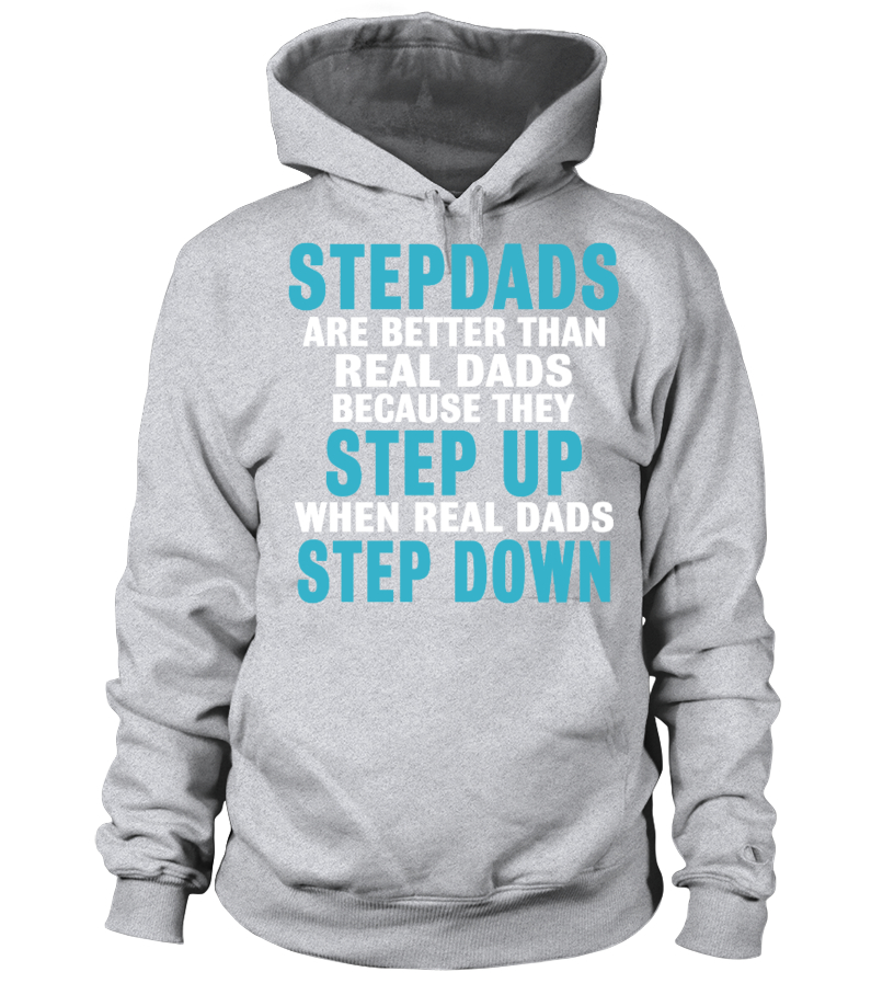 Amazing Father T-Shirt - Step Dads Hoodie Unisex
