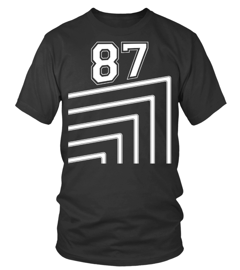 Number 87 Shirts