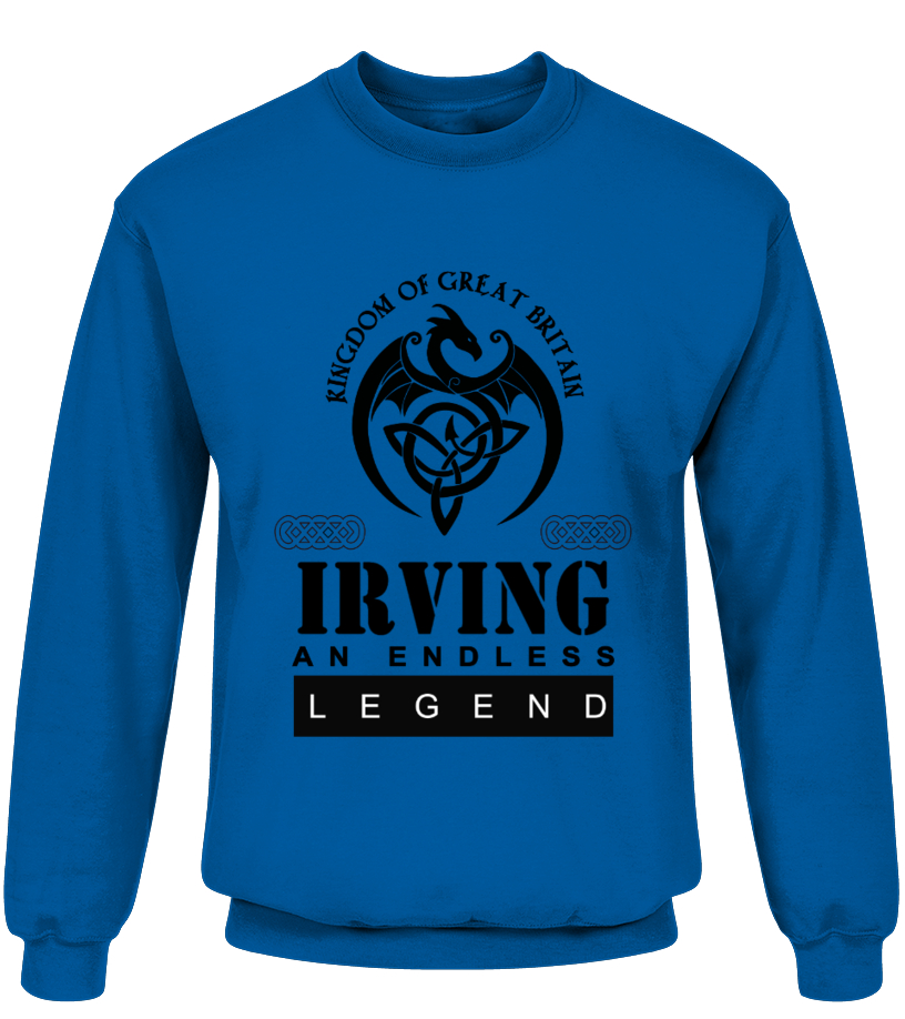 THE LEGEND OF THE ' IRVING '