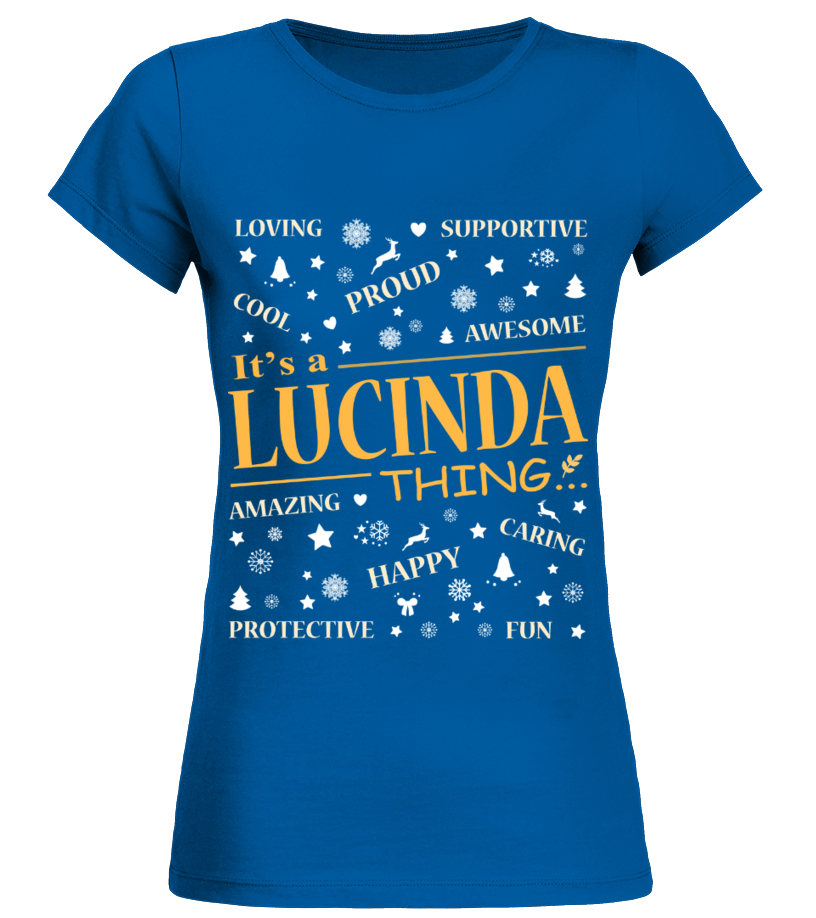 IT IS LUCINDA THING