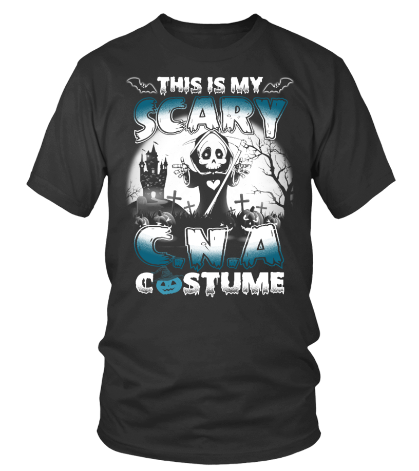 Halloween Shirt Scary C.N.A Costume