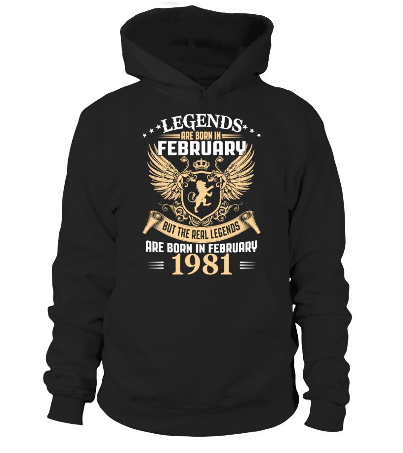 Legends Are Born In February 1981