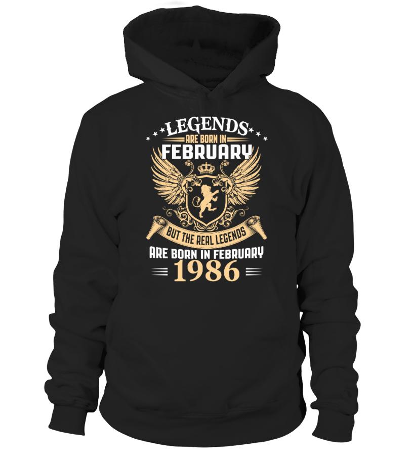 Legends Are Born In February 1986