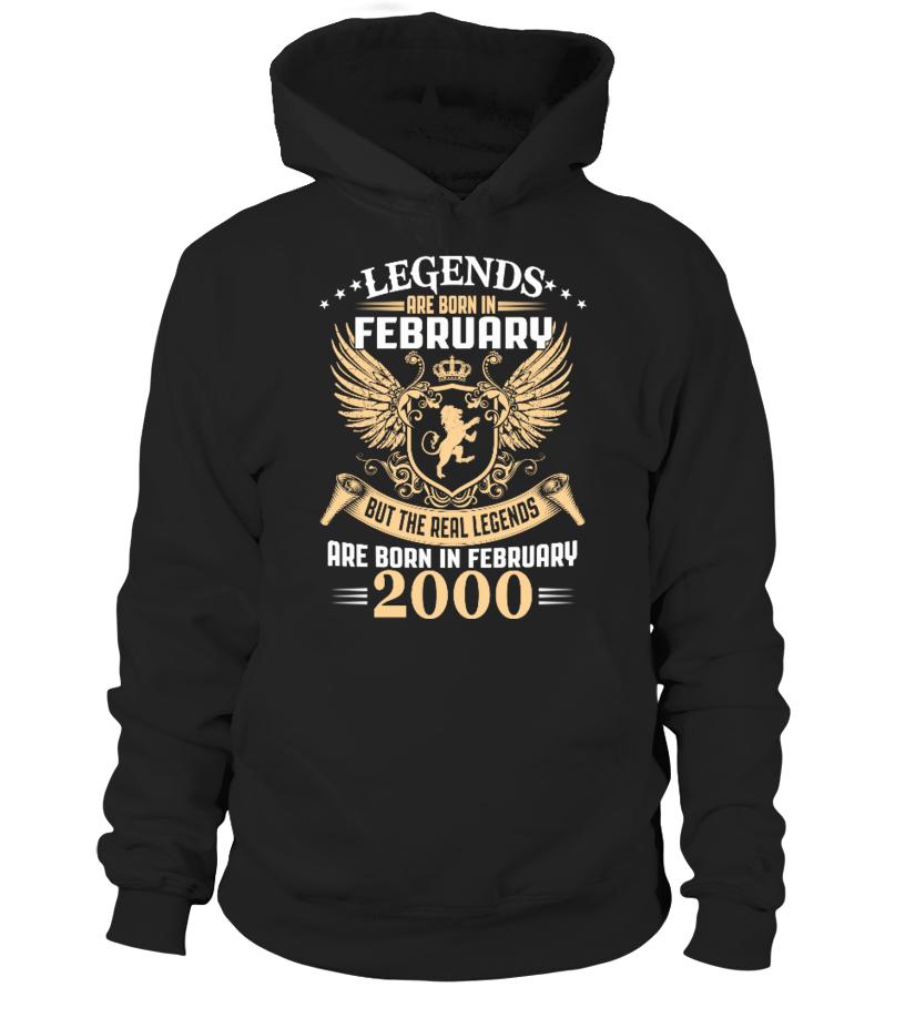 Legends Are Born In February 2000