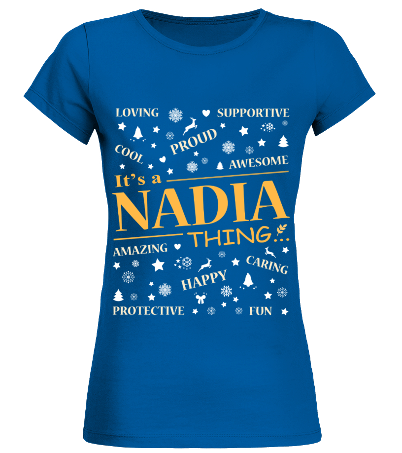 IT IS NADIA THING