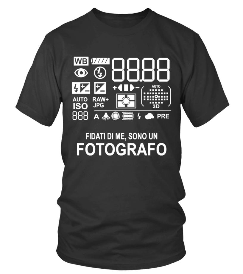 FOTOGRAFO, FOTOGRAFIA T-SHIRT