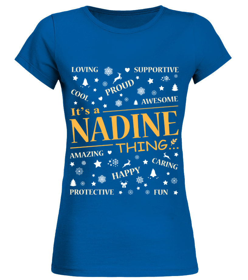IT IS NADINE THING
