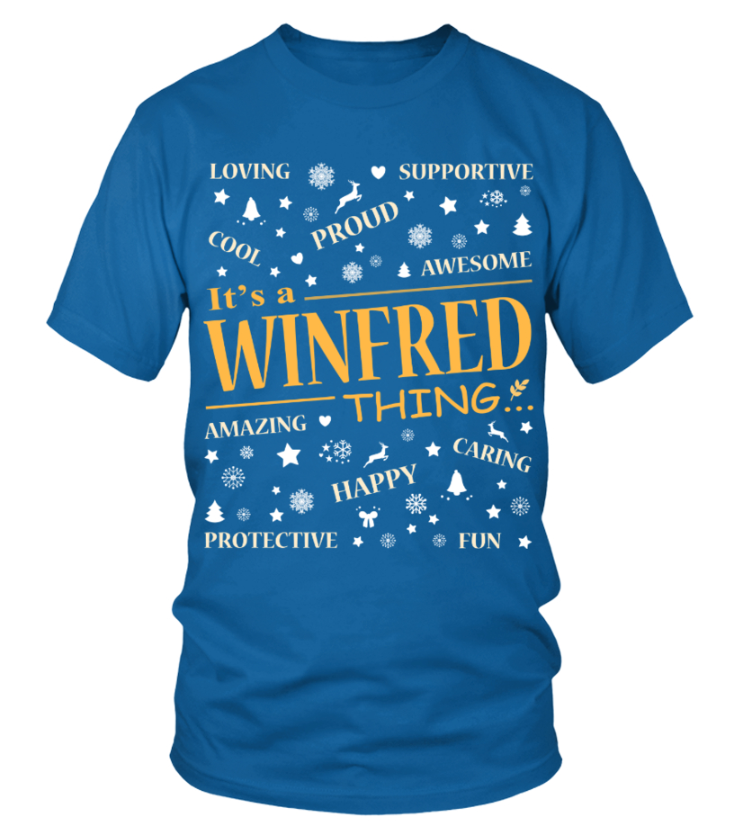 IT IS WINFRED THING