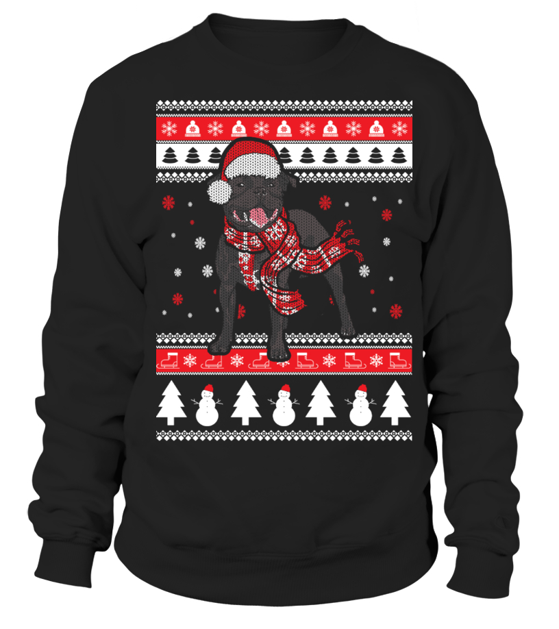 Staffie Ugly Christmas Sweater