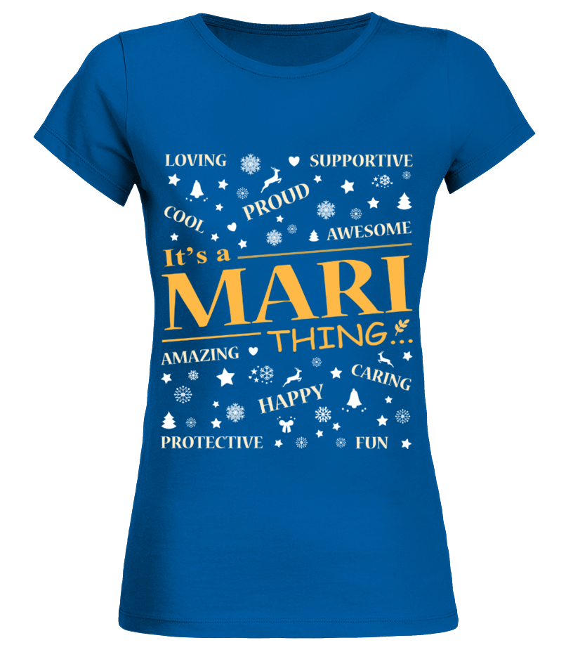 IT IS MARI THING