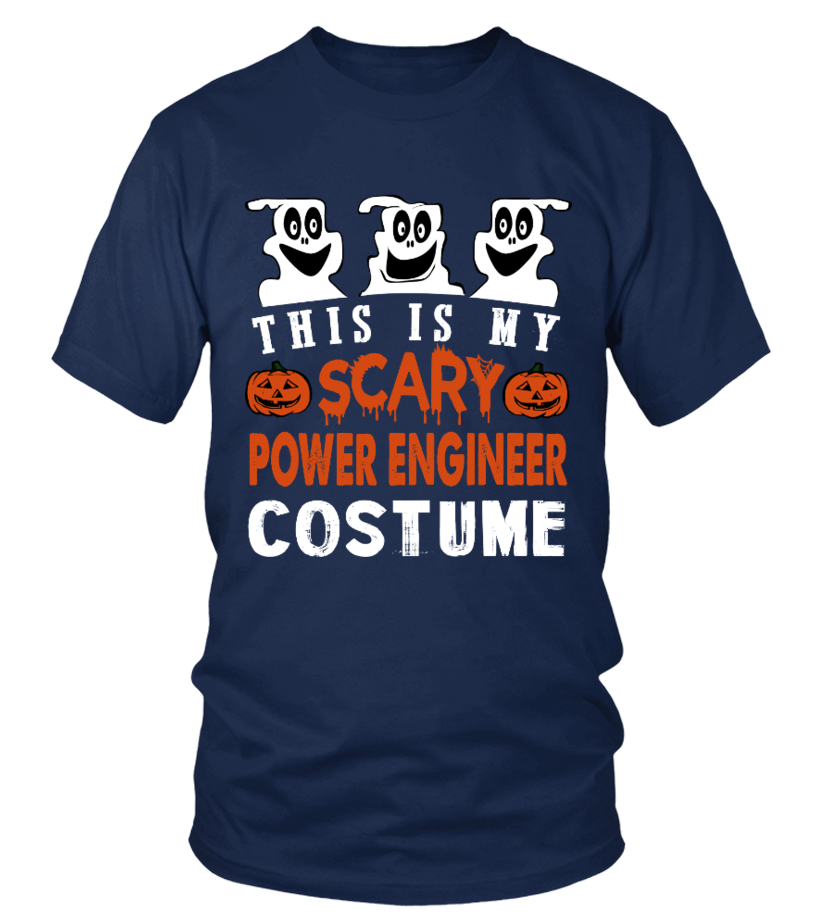 This is My Scary Power Engineer Costume