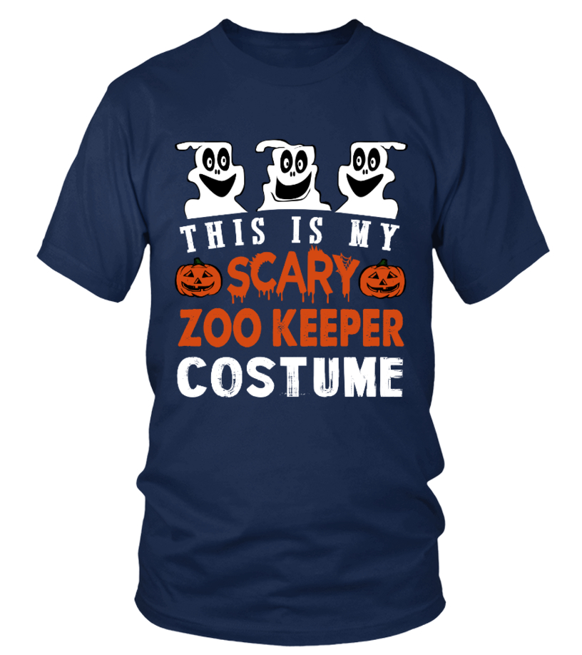 This is My Scary Zoo keeper Costume Hall