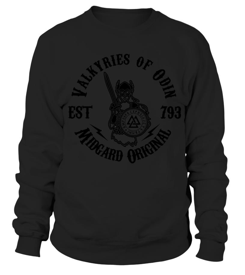 d0b8072fa Best Valkyries Of Odin Midgard Original Viking Odin Valhalla Shirts ...