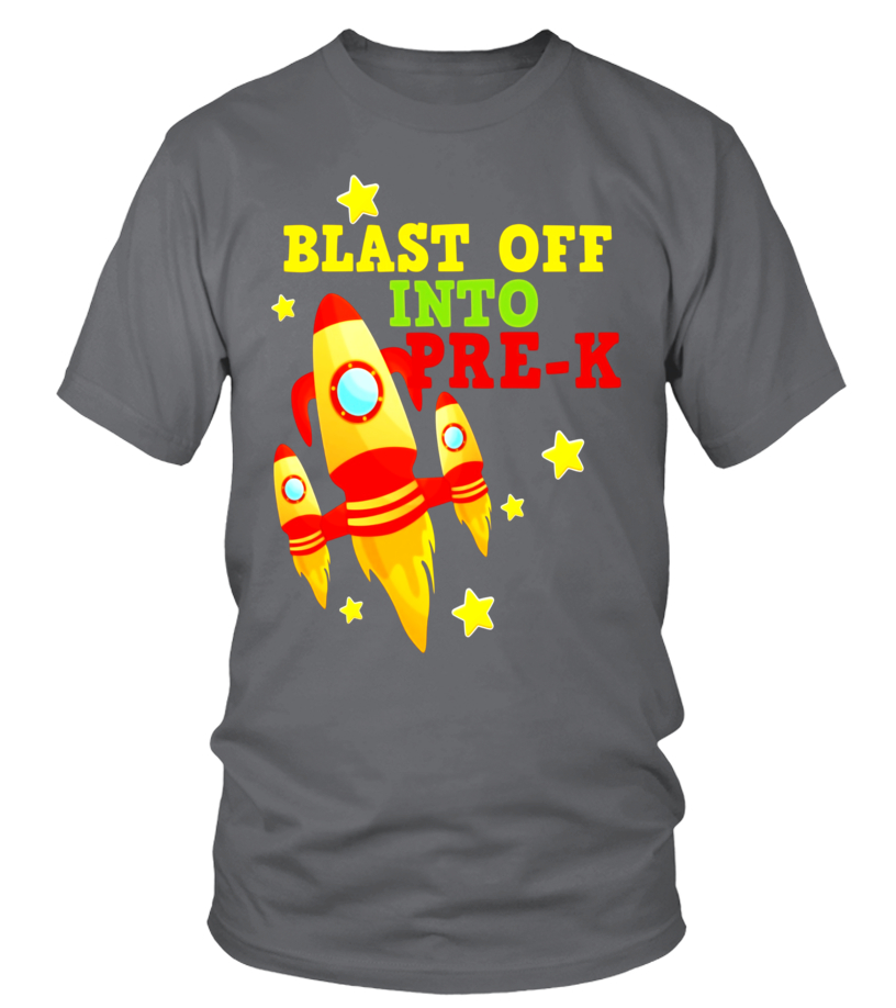 Amazing Tees - Blast Off Into Preschool Rocket Launch Back To Pre-k T-shirt
