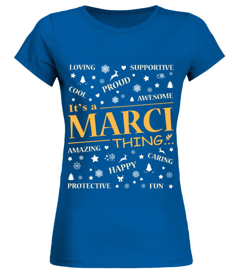 IT IS MARCI THING