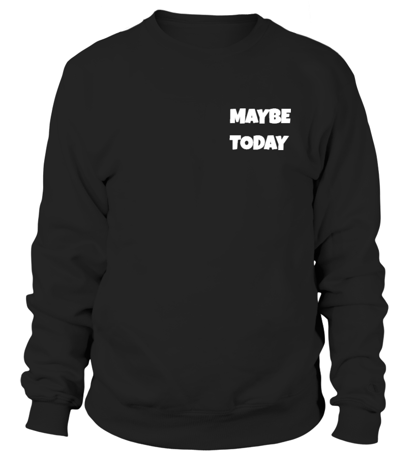 Maybe Today Sweater in Black