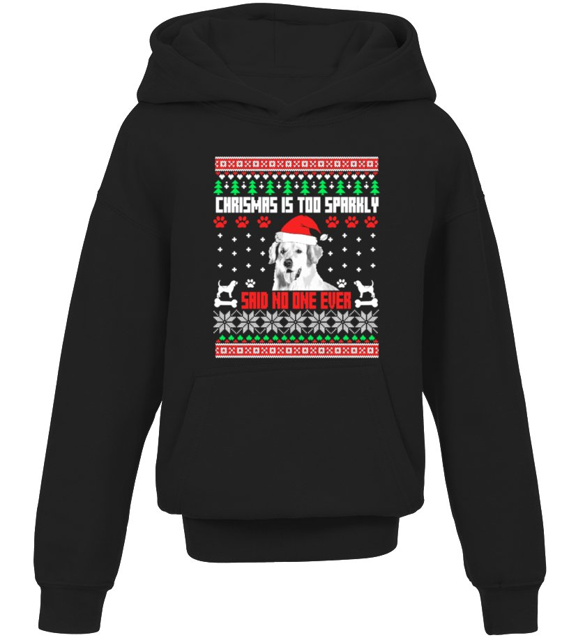 Amazing Christmas - Ugly Golden Christmas Sweater Kid Hoodie