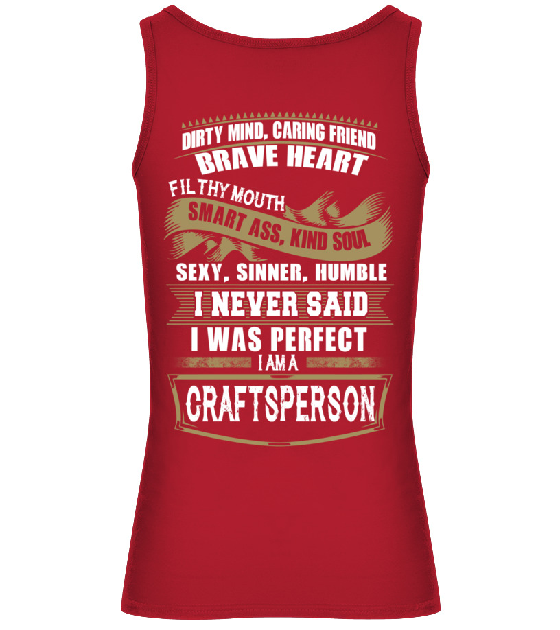 Gifts Crafts - CRAFTSPERSON Tank top Woman
