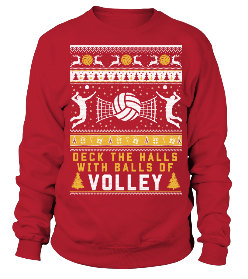 Volleyball Christmas Sweater