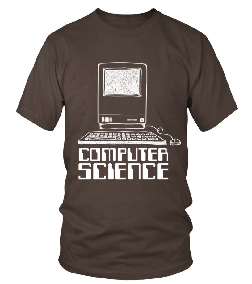 Men S Programmer T Shirts Computer Science T Shirts Small Brown T