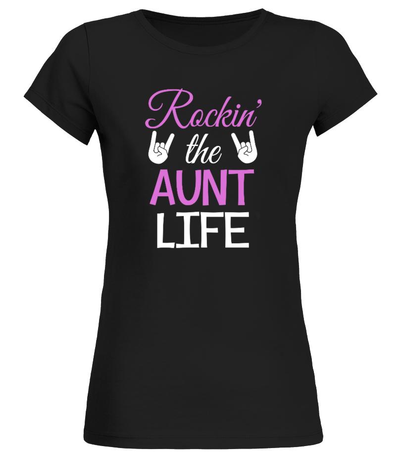 ROCKIN' THE AUNT LIFE SHIRT