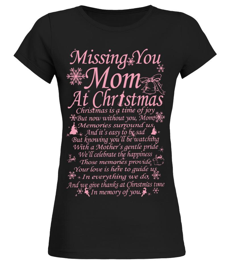 Missing Mom At Christmas.Missing Mom