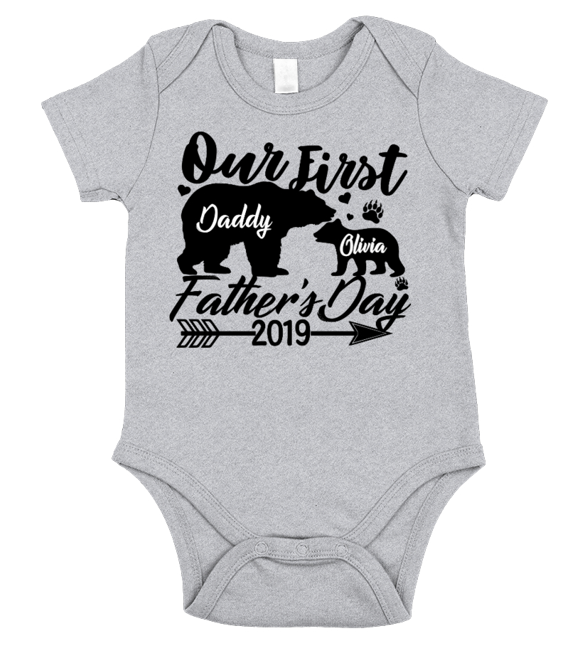 Fathers Day 2019 - Personalized Onesies Unisex Tshirt