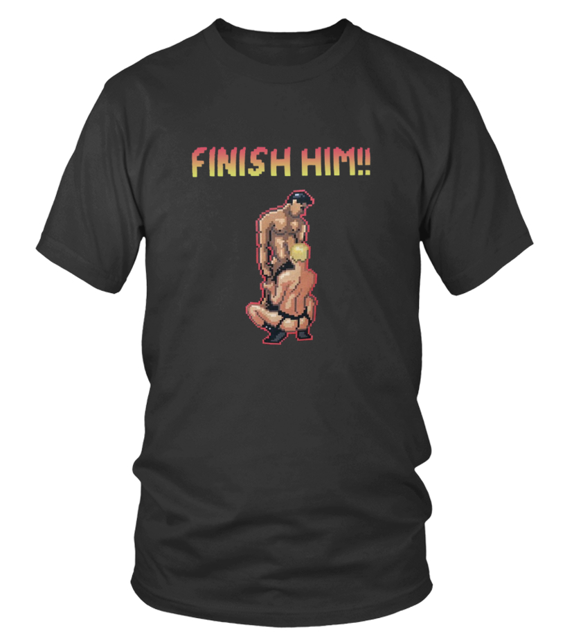 FINISH HIM SHIRT Evan Ross Katz