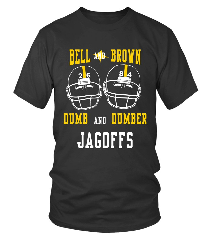 Bell And Brown Dumb and Dumber Jagoffs T-shirt