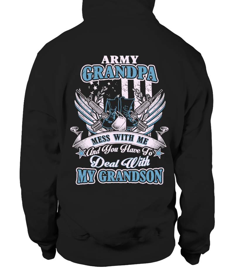 Best Father - Army Grandpa - Army Papa - Army Grandfather Shirt Hoodie Unisex