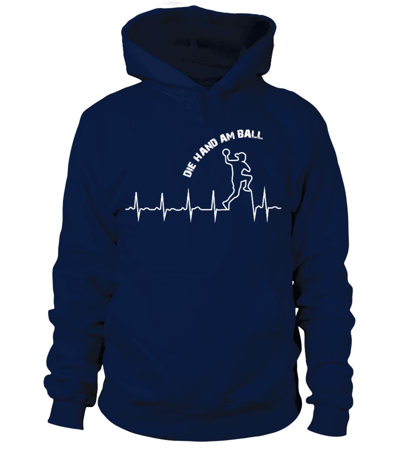 Handball Shirt Frauen - Heartbeat! Gechenkidee