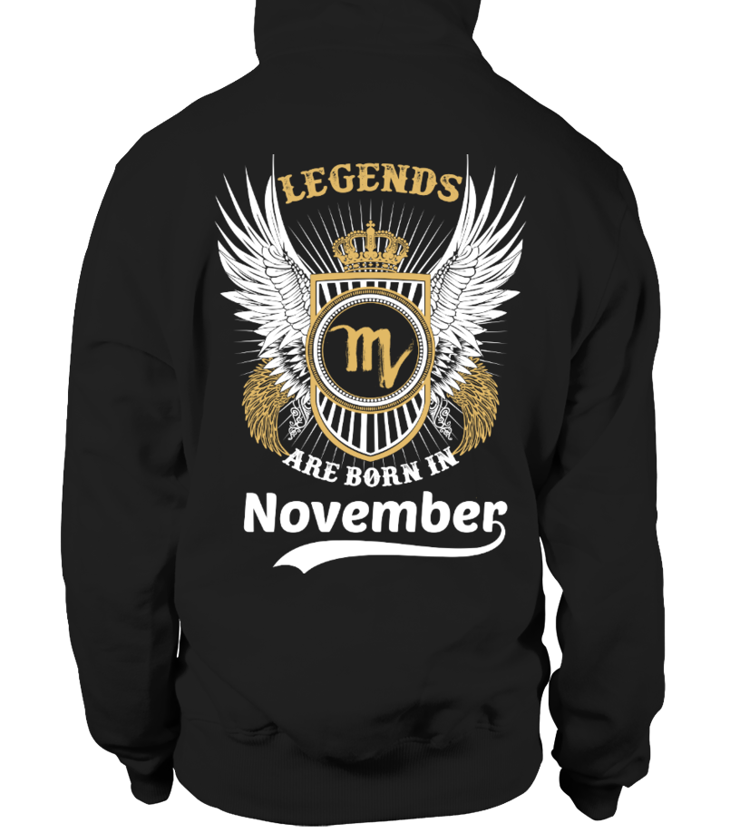 LEGENDS ARE BORN IN NOVEMBER!