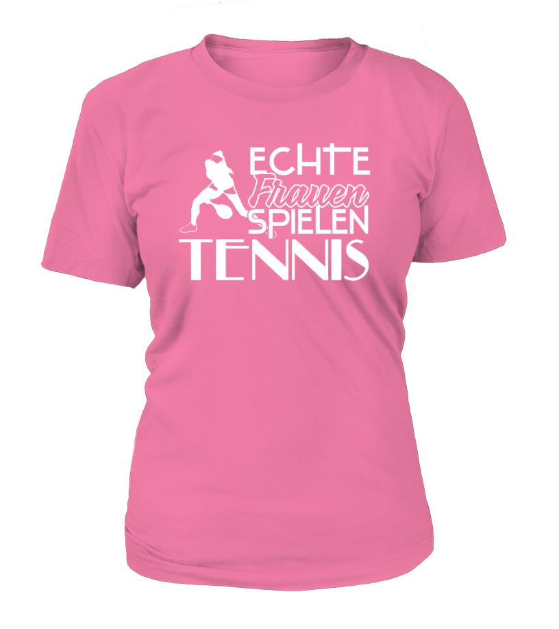 Echte Frauen spielen Tennis