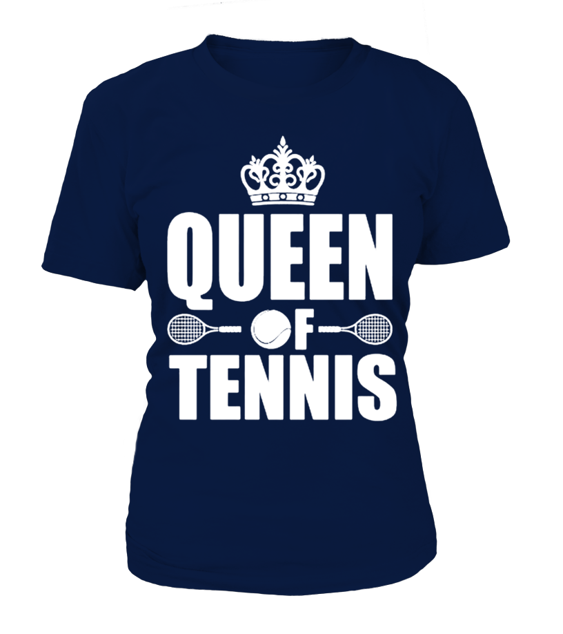 Queen of Tennis T Shirt