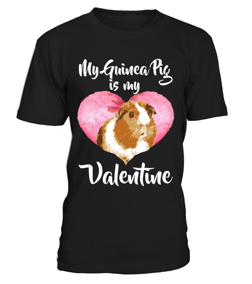 Guinea Pig Valentine's Day Shirt