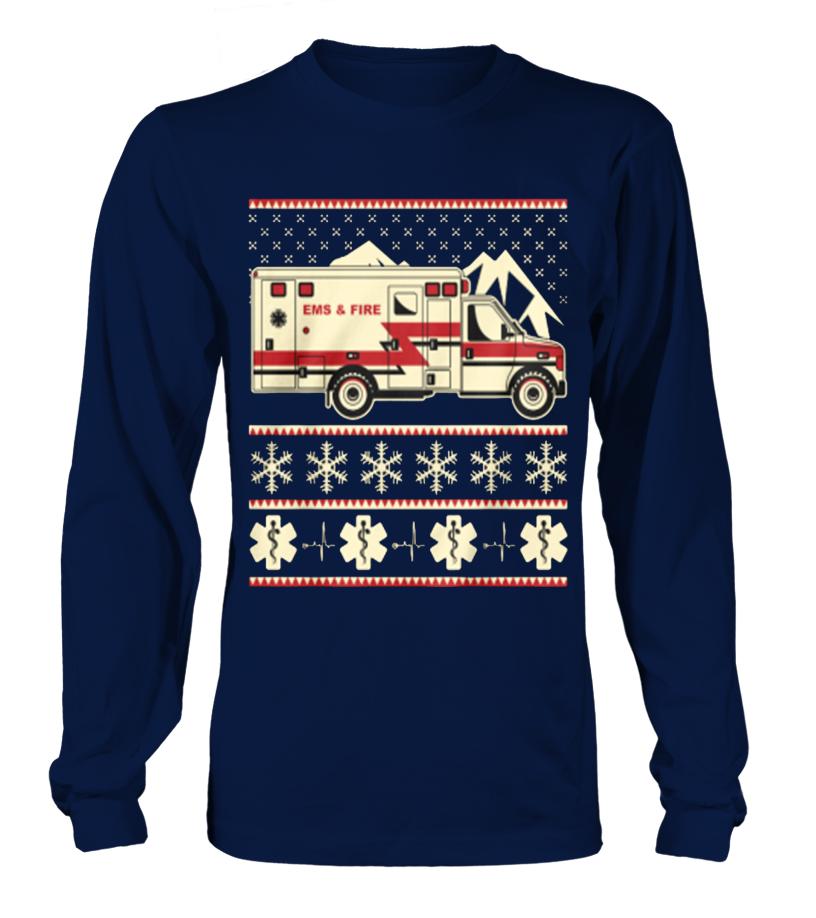 EMS EMT Paramedic Ambulance Christmas