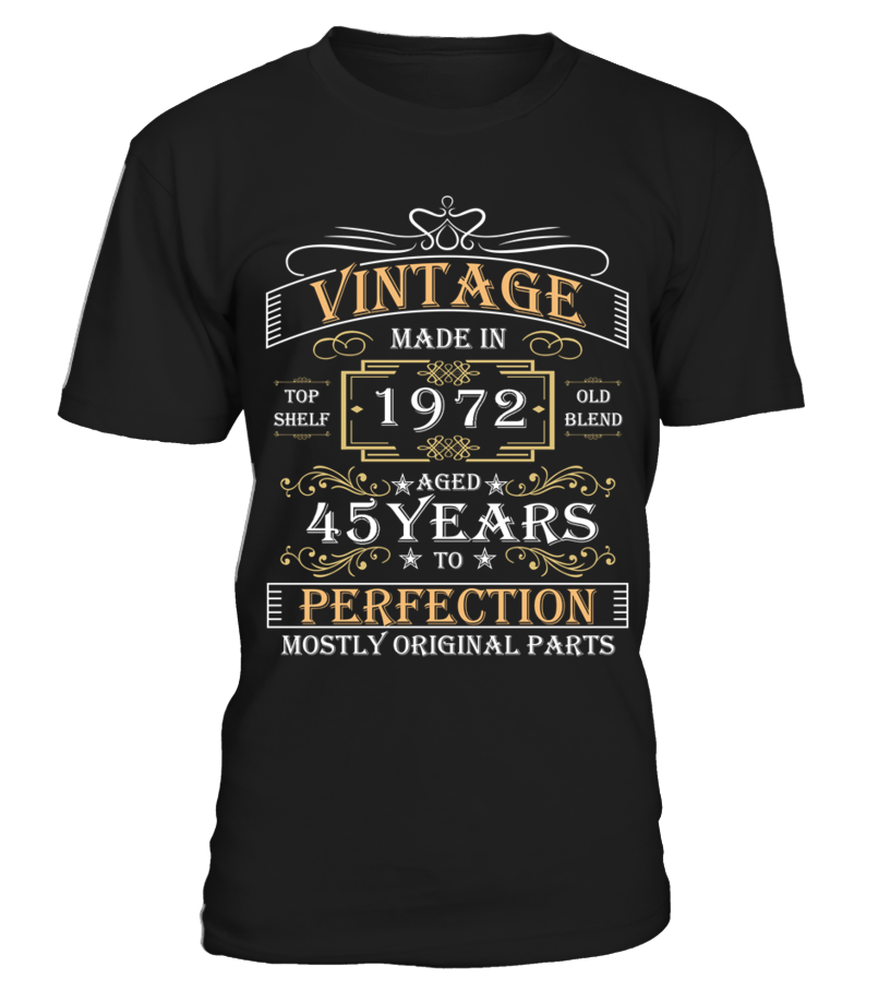 1972 aged to perfection