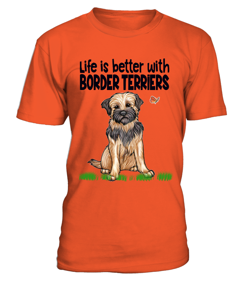 Life is better with Border Terriers