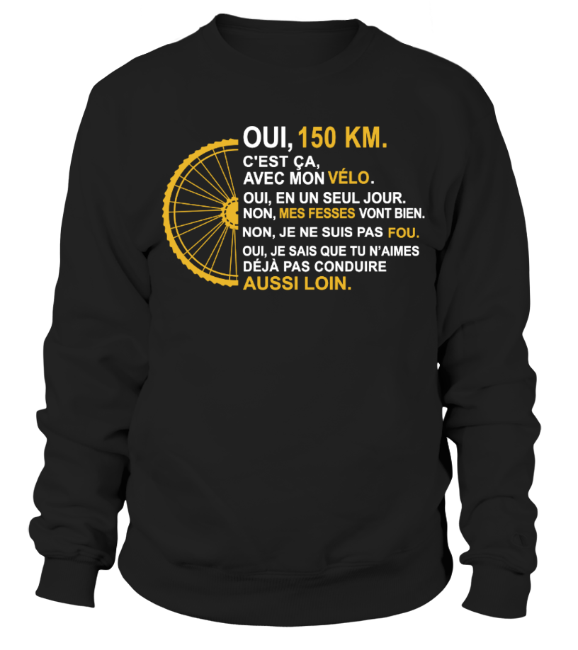 VÉLO OUI, 150 KM
