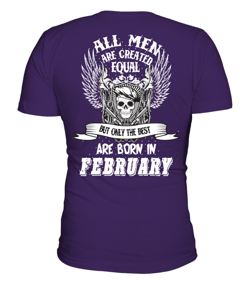 Born in February Men T-Shirt