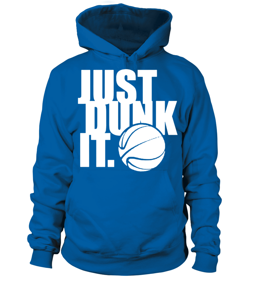 JUST DUNK IT Basketball T shirt