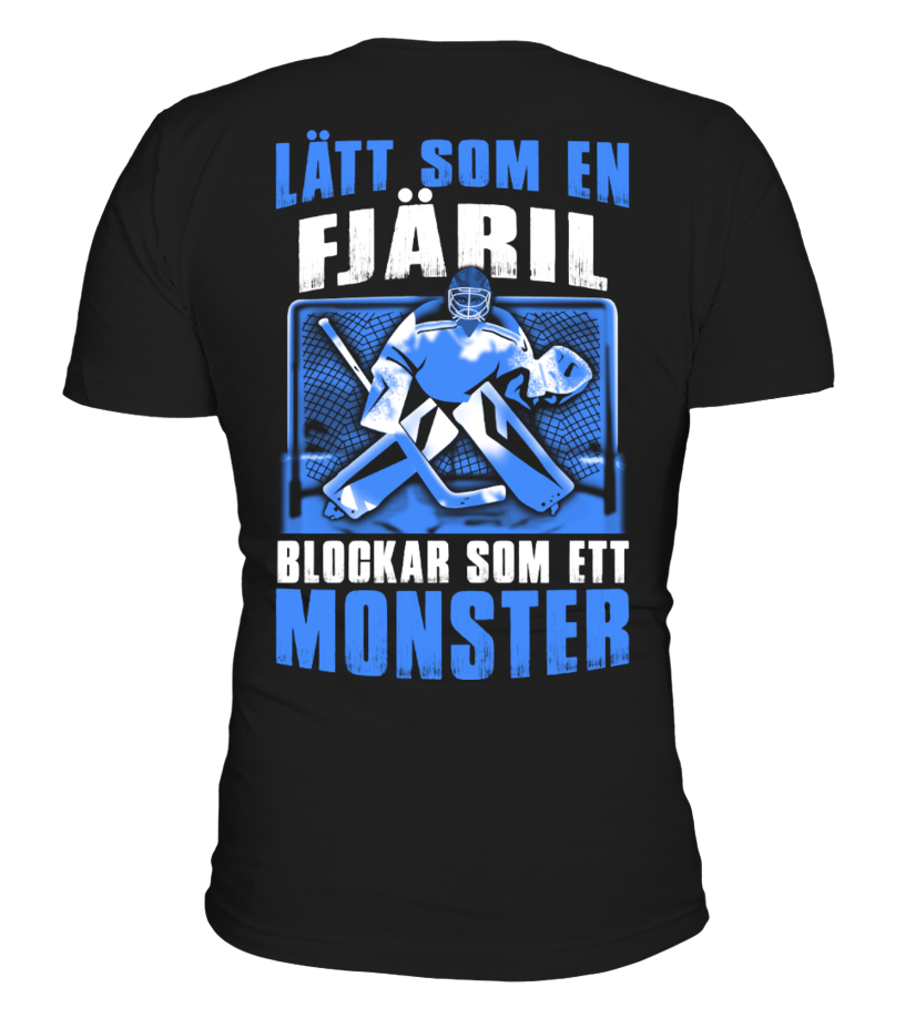 HOCKEY BLOCKAR SOM ETT MONSTER